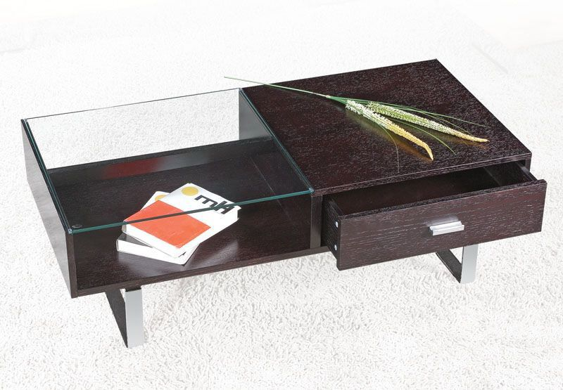Elegant Contemporary Glass Coffee Table Worcester Massachusetts Ah239