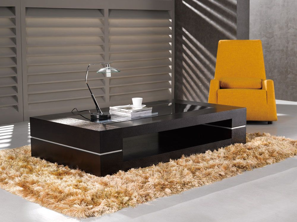 Durable oak veneer contemporary wenge coffee table lakewood colorado j m 682 Wenge coffee tables
