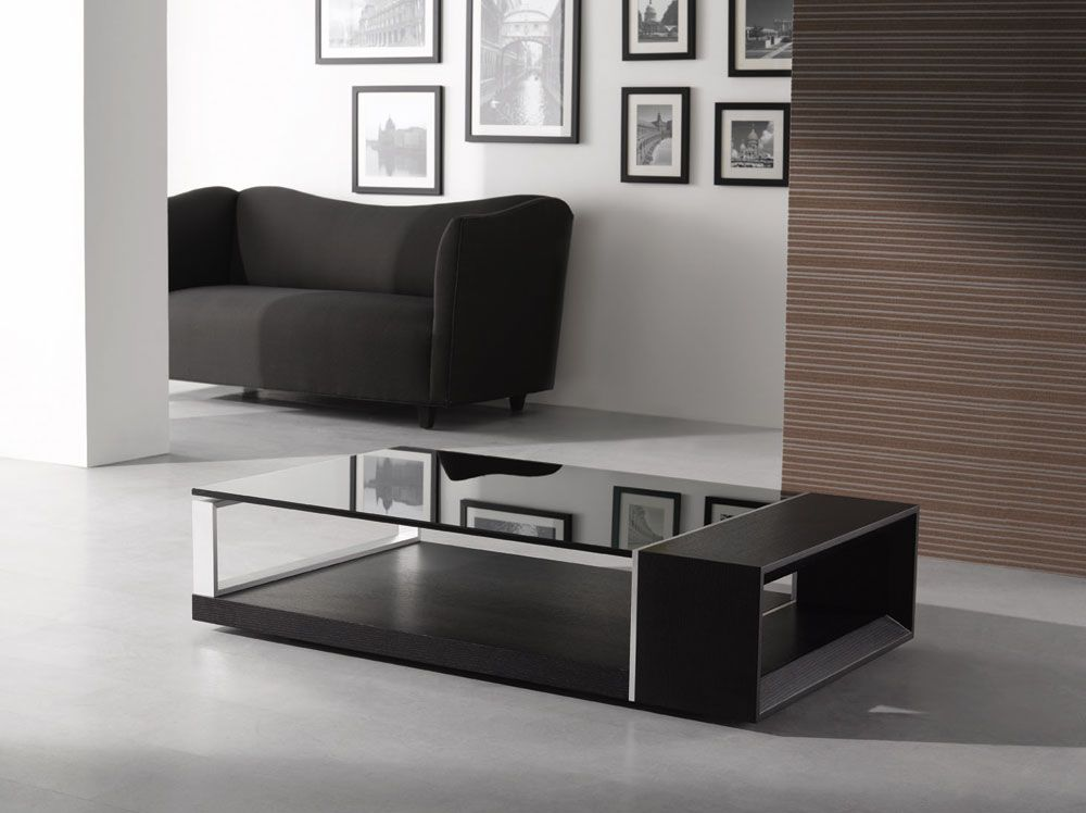 Clear Glass Top Contemporary Coffee Table Hayward