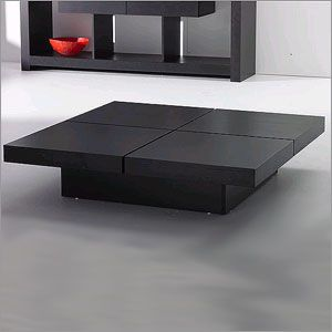 Kyoto 4 Tops Coffee Table in Wenge Finish