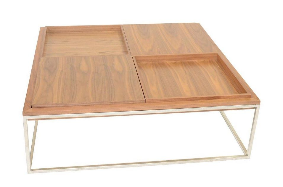 Coffee Table With Stainless Steel Base Tacoma Washington VDIP2506