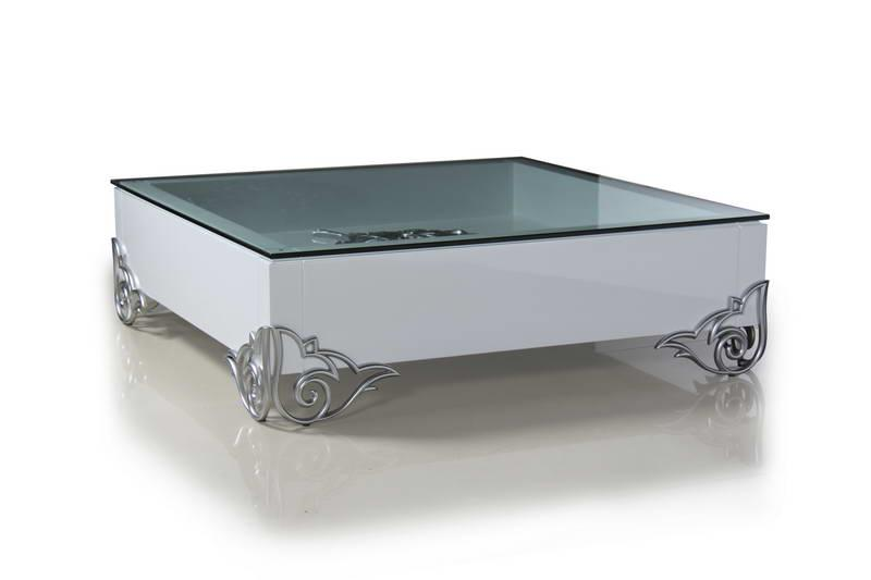 Luxury contemporary coffee table elite and low profile for Modern low profile coffee tables