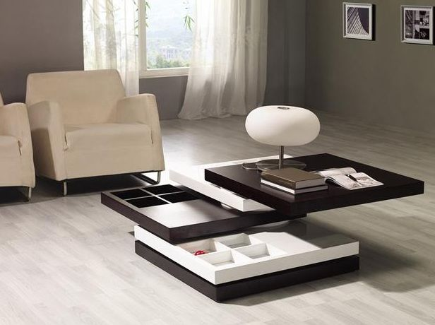Brown And White Squared Multi Function Coffee Table Virginia Beach Virginia Vmixx