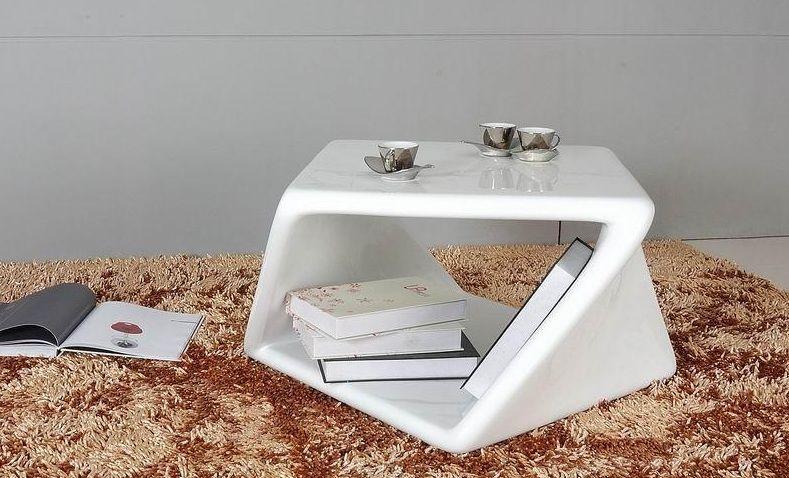 Bon Designer Coffee Tables, Stylish Accessories. Unique Contemporary White  Lacquered ...