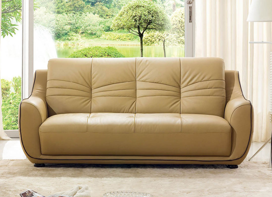 Remarkable Bonded Leather Beige Tufted Sofa Set Phoenix Arizona  ~ Cheap Tufted Leather Sofa