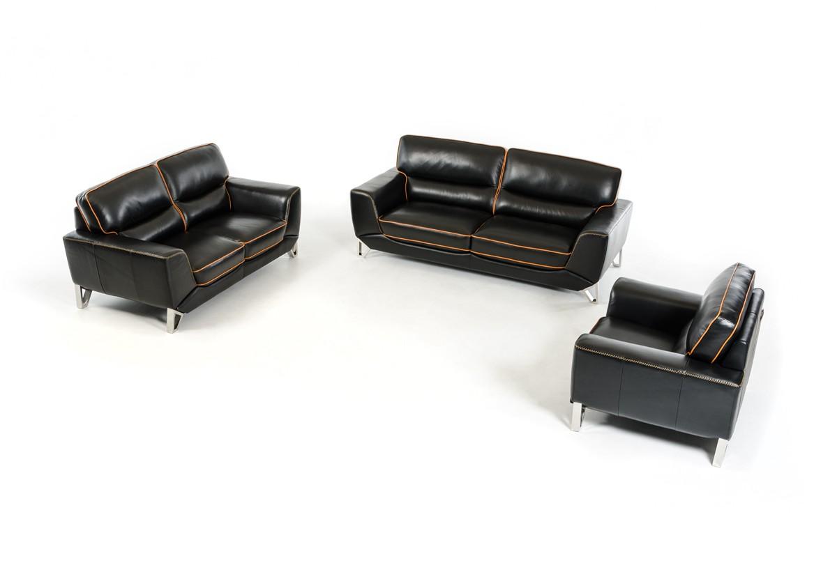 Charmant Genuine And Italian Leather, Modern Designer Sofas