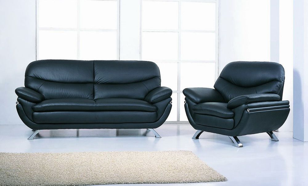 Superb Harmony Ying Yang Contemporary Leather Living Room Sofa Set Ncnpc Chair Design For Home Ncnpcorg