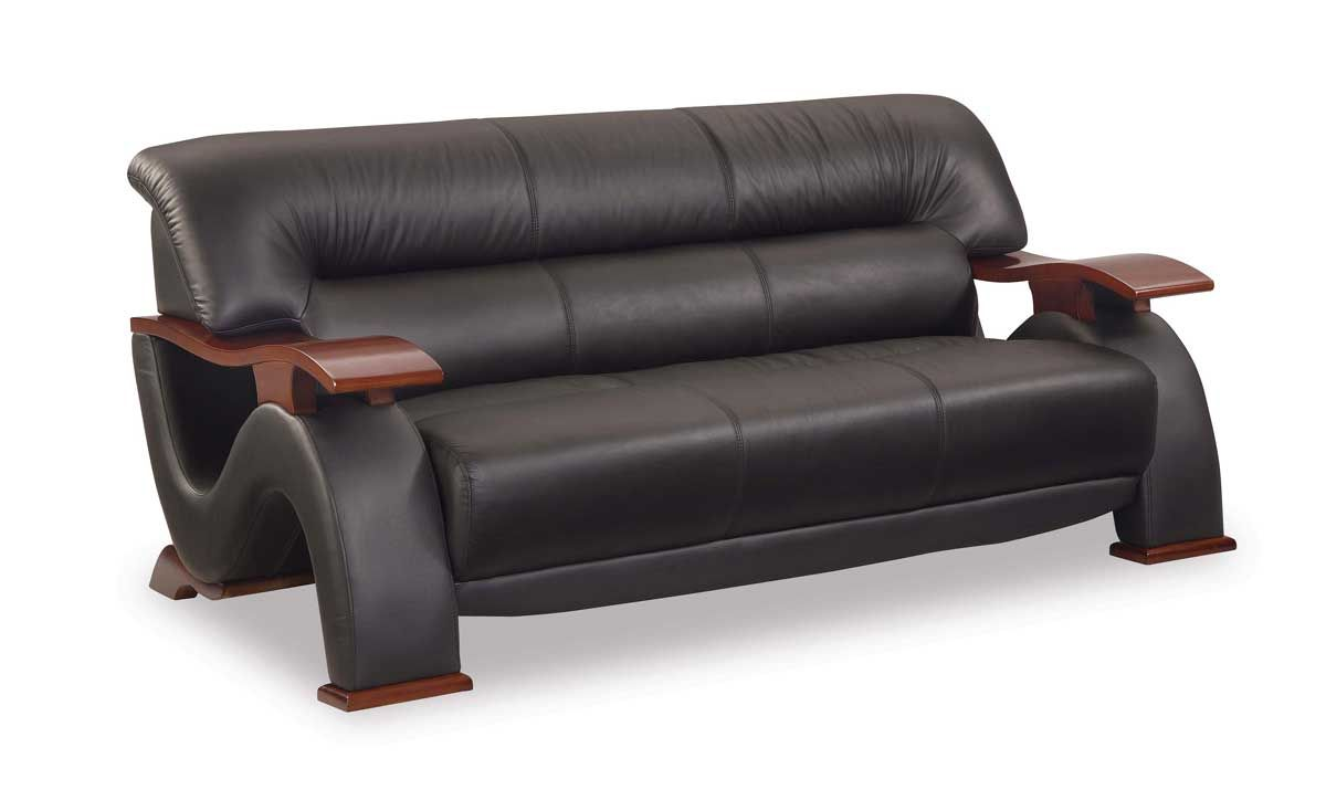 Wood And Leather Sofa Set Sofas Center Wood And Leather