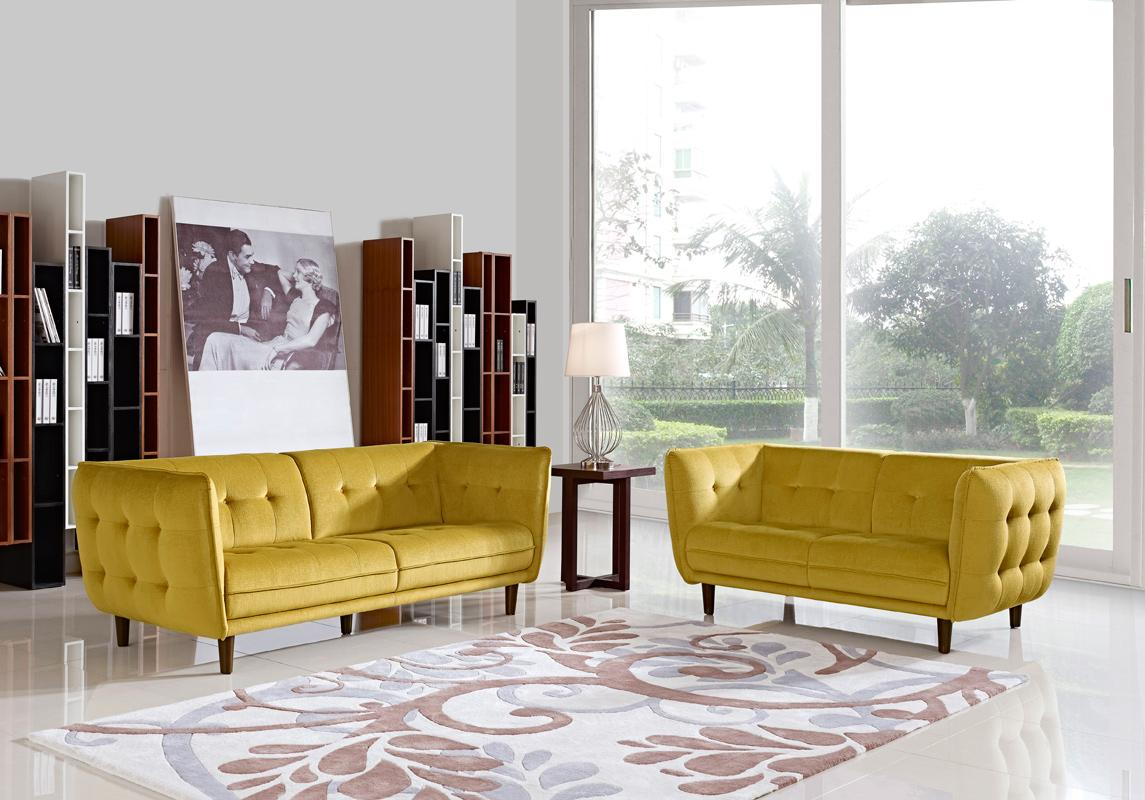 Yellow Sofa Set Yellow Leather Sofa Set Suppliers And