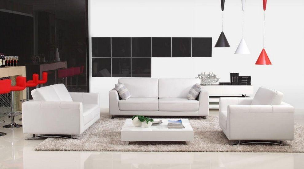 Quality Bonded Leather Modern Designer Sofas
