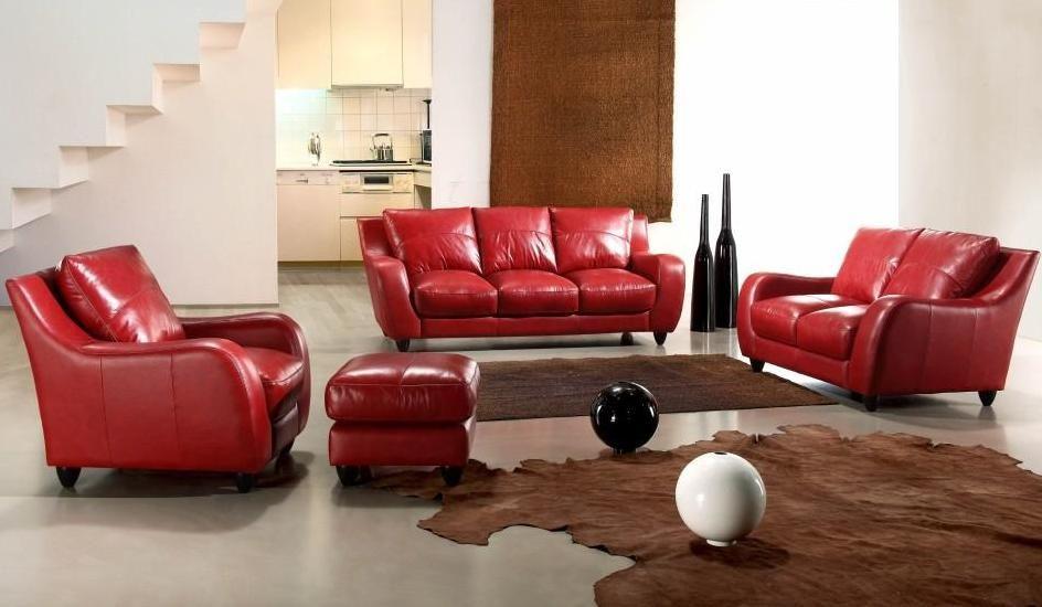 full leather bremen red sofa set anaheim california vbremen