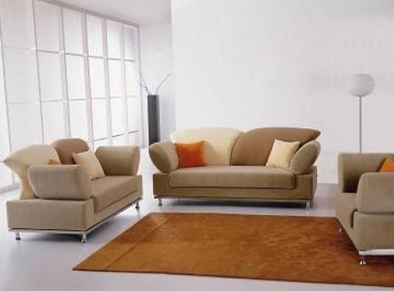 Brilliant Soft Multi Toned Microfiber Sofa Set Machost Co Dining Chair Design Ideas Machostcouk