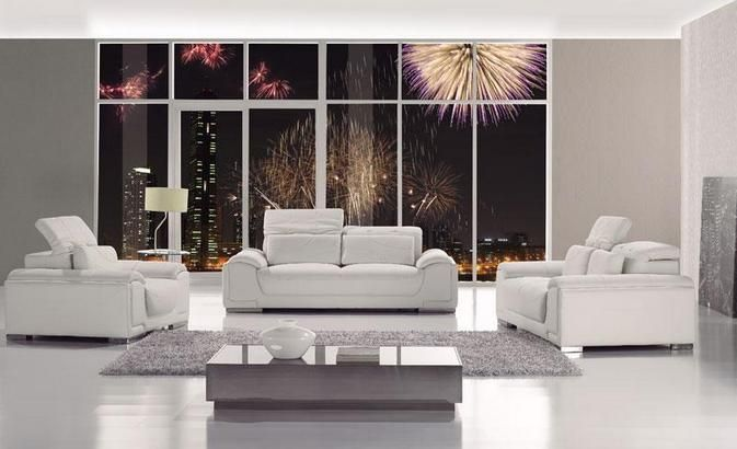 Awesome White Bonded Leather Sofa Set Ocoug Best Dining Table And Chair Ideas Images Ocougorg