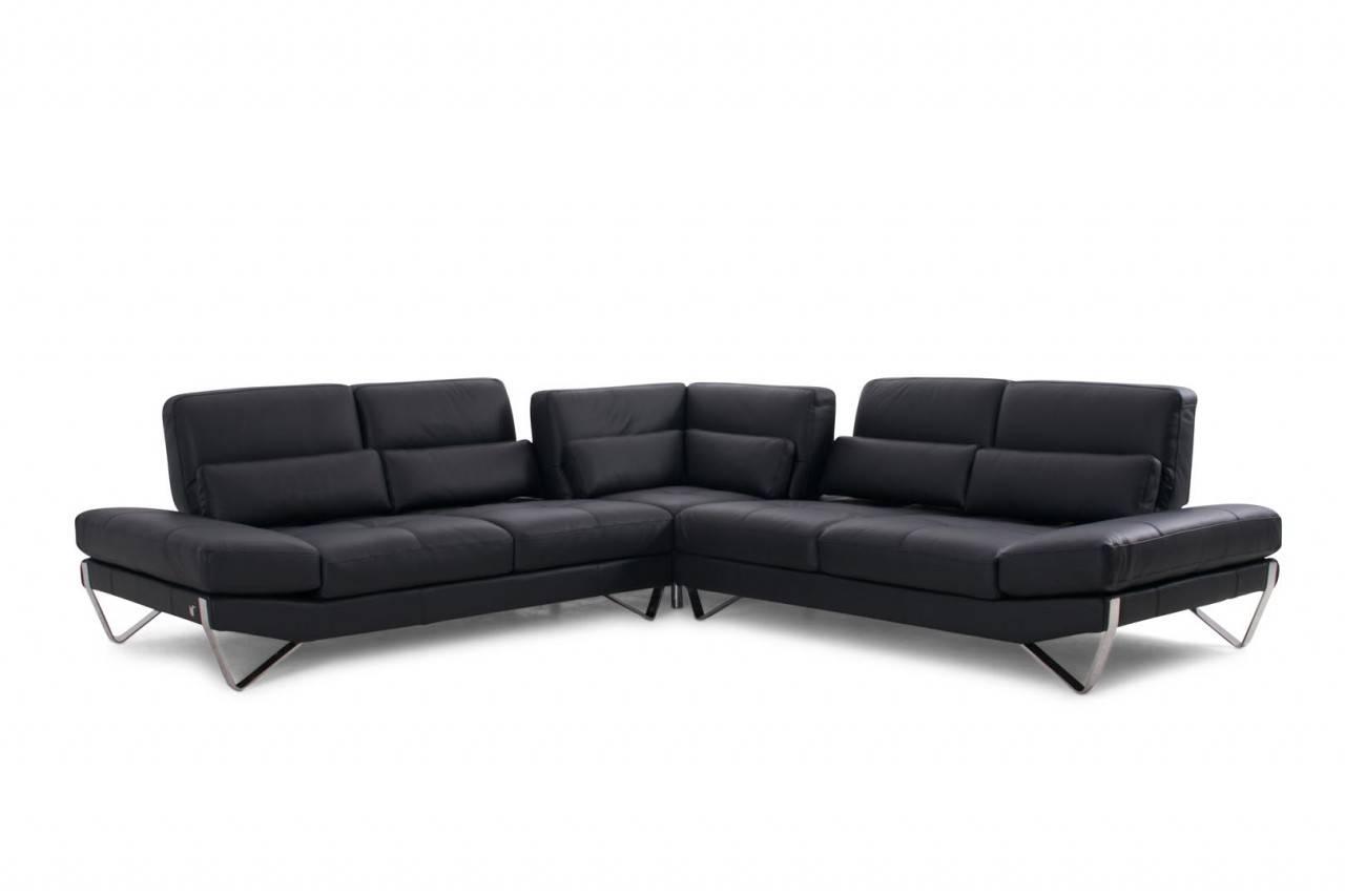 Advanced Adjustable Italian Leather Living Room Furniture Knoxville  Tennessee Nicoletti 833 VIG Part 88