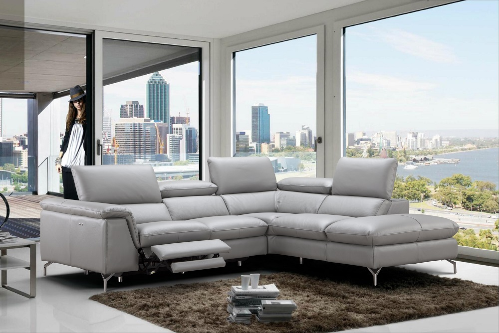 Refined 100 Italian Leather Sectional Fort Worth Texas