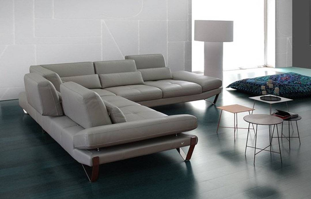 Luxury Modern Genuine Italian Sectional Salinas California Nicoletti-833