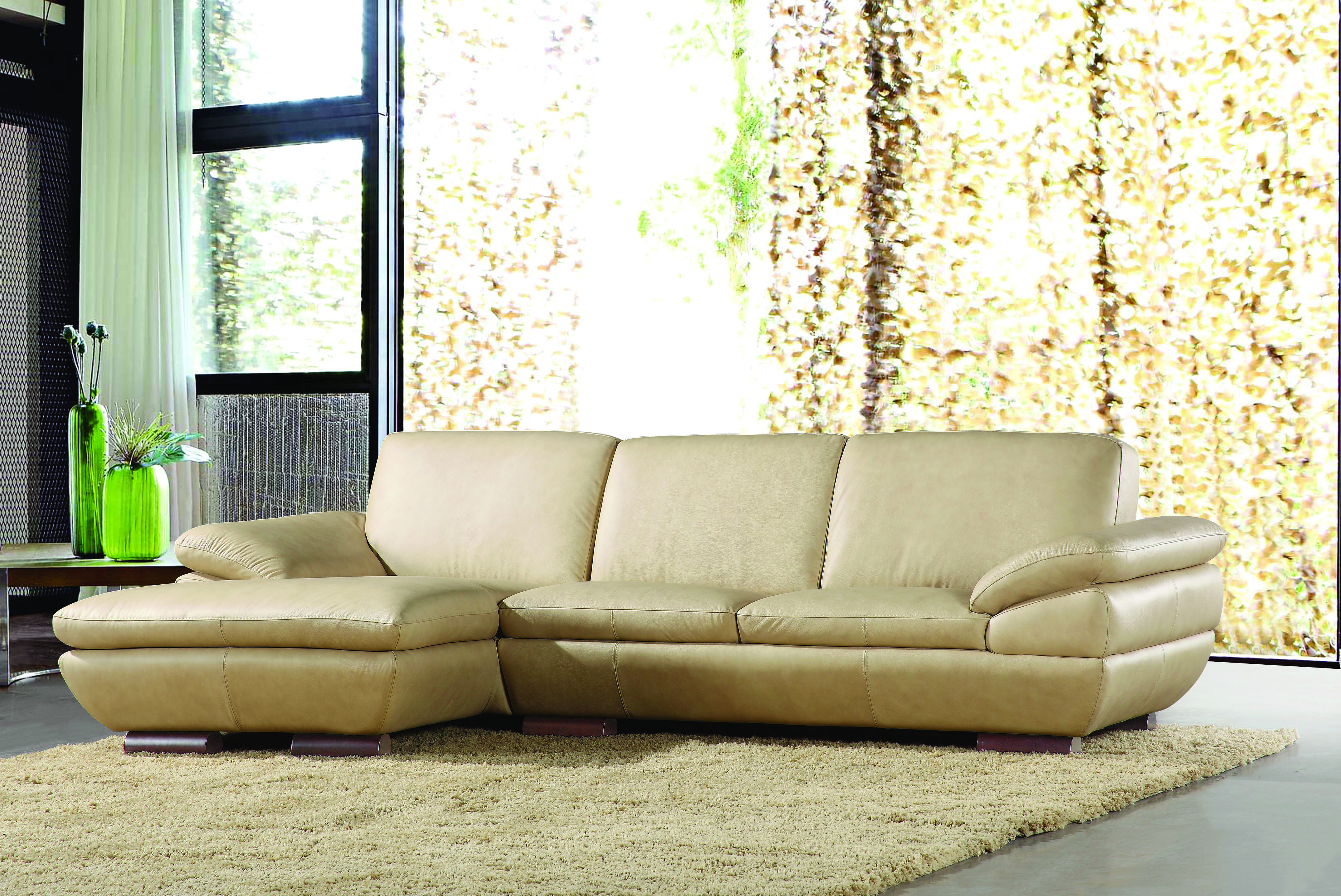 Exquisite All Real Leather Sectional Houston Texas Beverly Hills