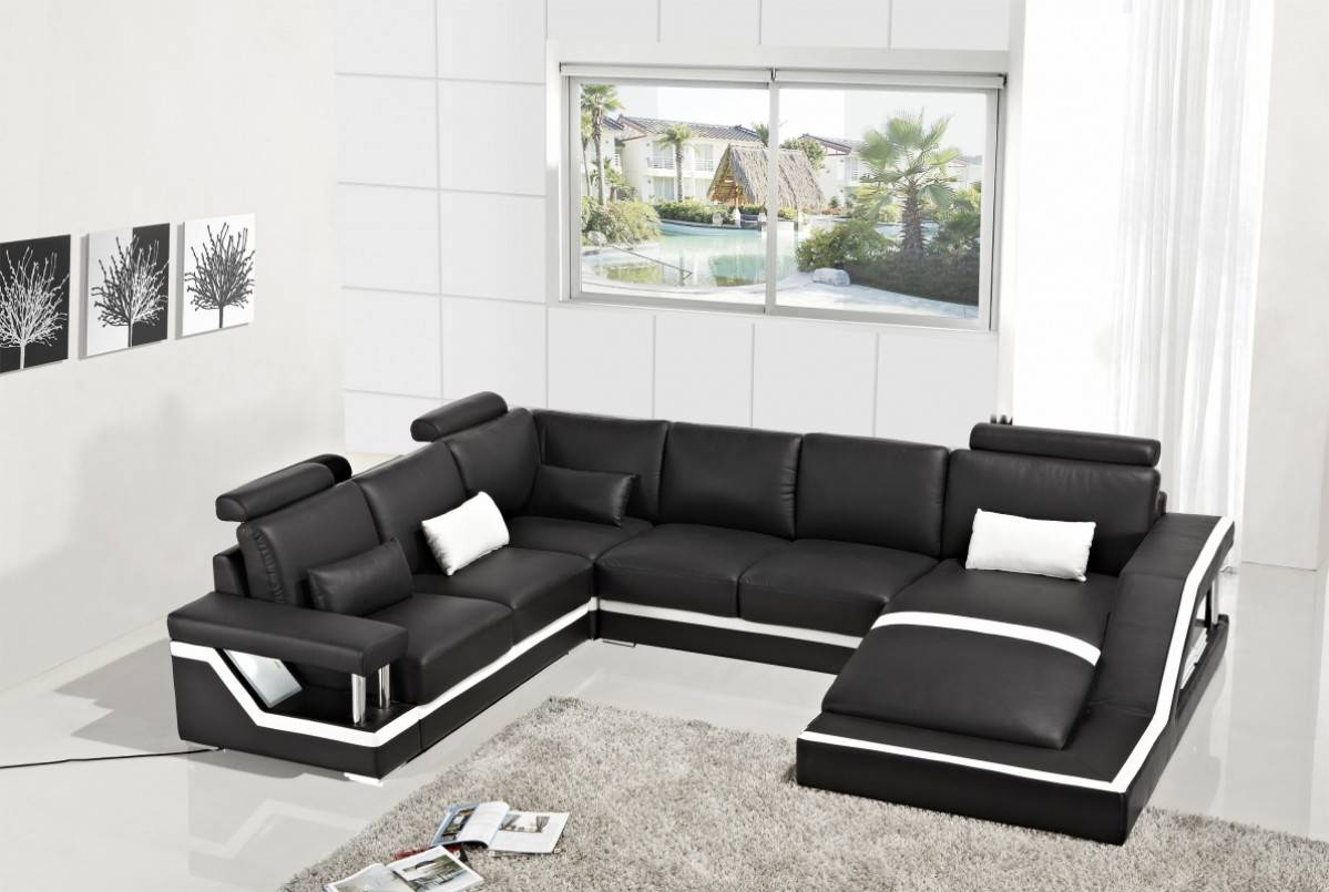 Astounding Exclusive Affordable Leather Sectional Home Interior And Landscaping Oversignezvosmurscom