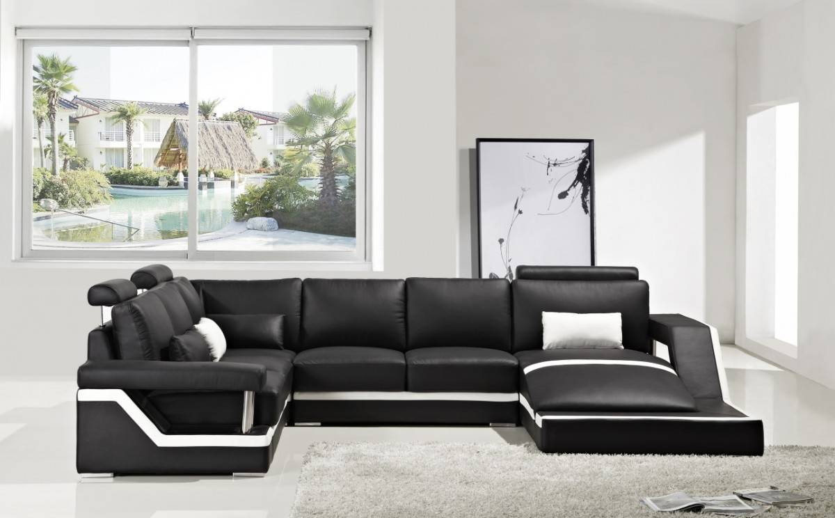Exclusive Affordable Leather Sectional Atlanta Georgia V T271