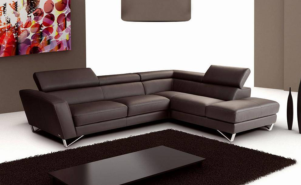 Genuine And Italian Leather Corner Sectional Sofas Exquisite Living Room Furniture
