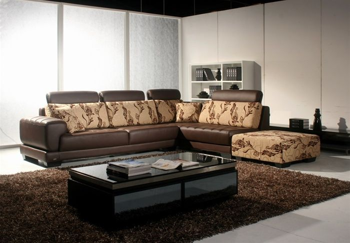 100% Genuine Italian Quality Leather Sectionals. Corner
