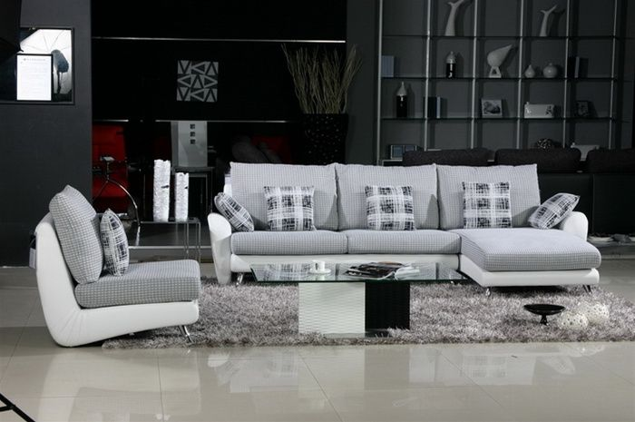 Incredible Contemporary Quality Microfiber L Shape Sectional Cjindustries Chair Design For Home Cjindustriesco