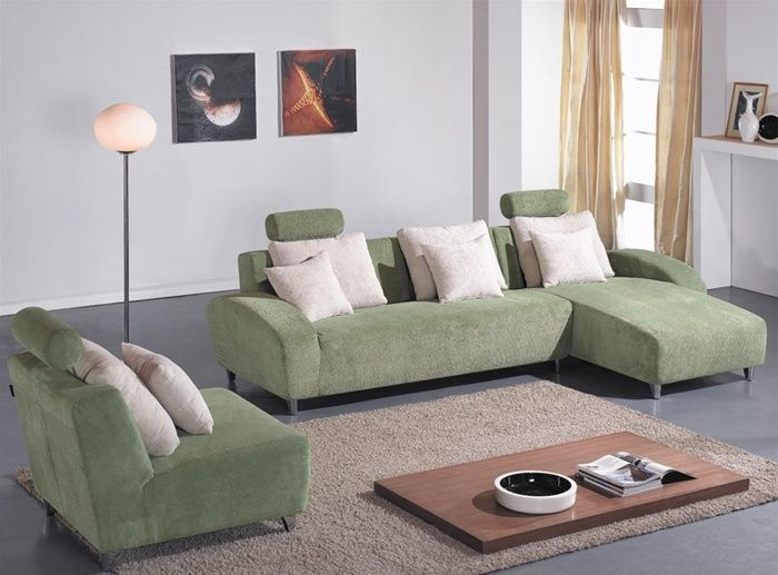 Exclusive Modern Microfiber Sectional