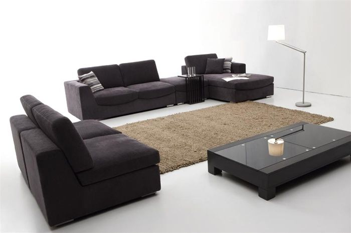 Fine Exquisite Quality Microfiber L Shape Sectional Theyellowbook Wood Chair Design Ideas Theyellowbookinfo