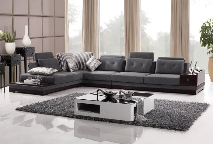 elite microfiber sectional in colors with pillows grand. Black Bedroom Furniture Sets. Home Design Ideas