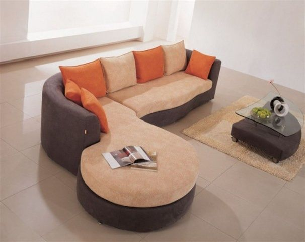High-class Microfiber Corner Sectional Sofa