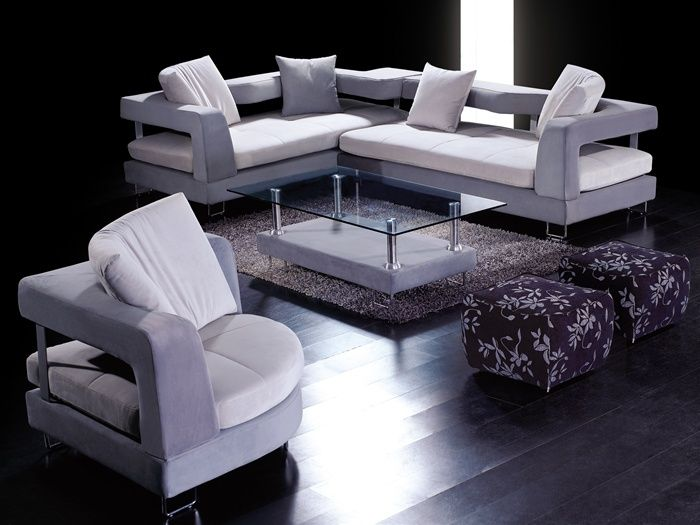 High-class Micro Suede Fabric Sectionals
