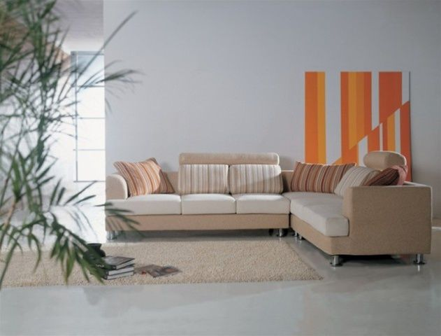 Outstanding Contemporary Designer Microfiber Sectional With Pillows Caraccident5 Cool Chair Designs And Ideas Caraccident5Info