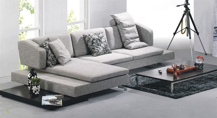 High-class Modern Microfiber Sectional