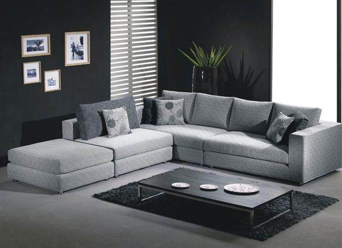 Unique microfiber curved corner sofa winston salem north for Unusual corner sofas
