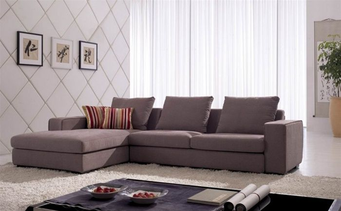 exclusive tufted microfiber living room furniture with pillows salinas