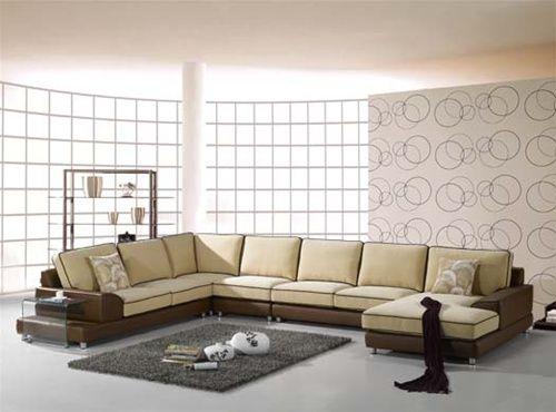 high end micro suede l shape sofa furniture with pillows omaha nebraska a604sohe. Black Bedroom Furniture Sets. Home Design Ideas