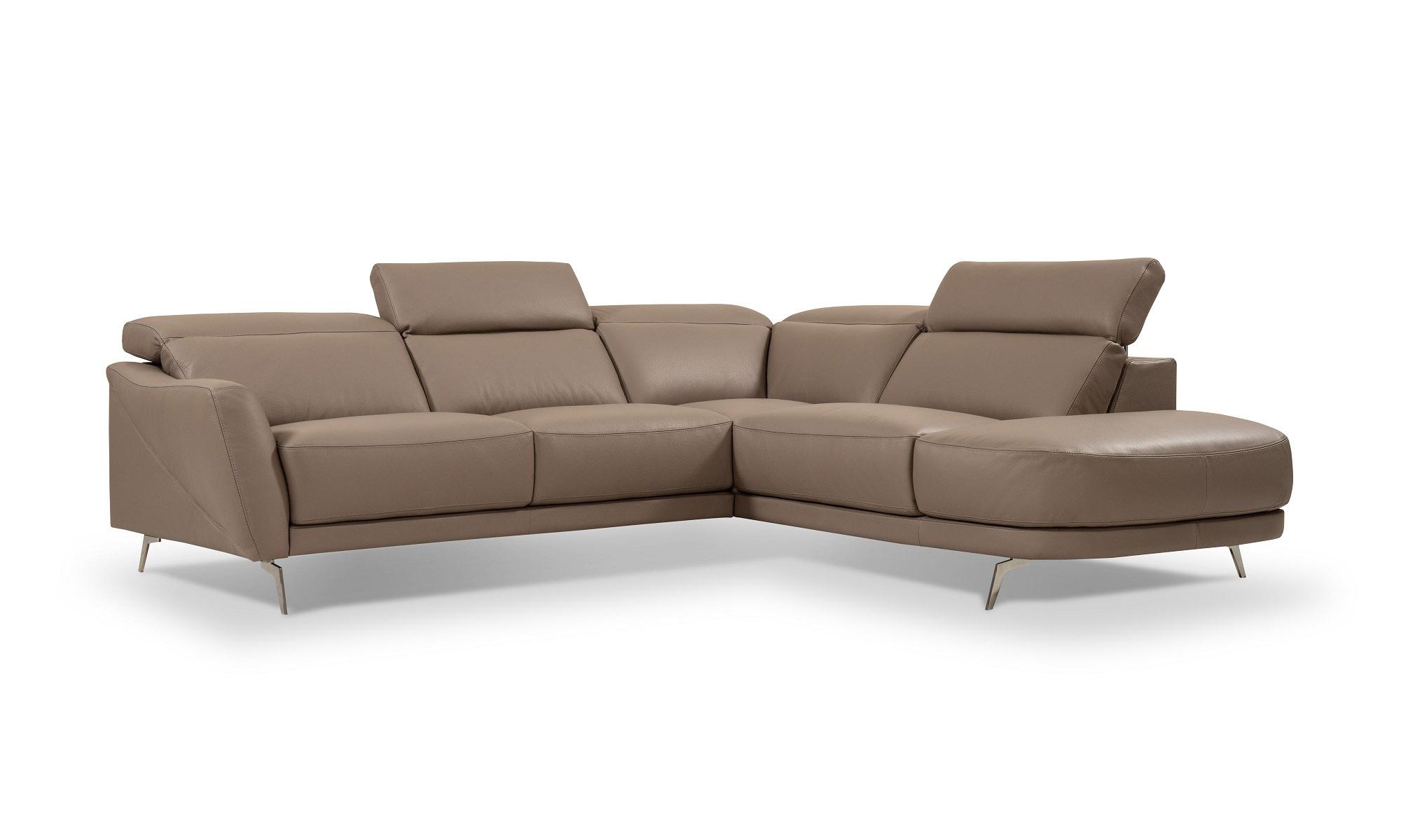 High-class Leather Upholstery Corner L-shape Sofa