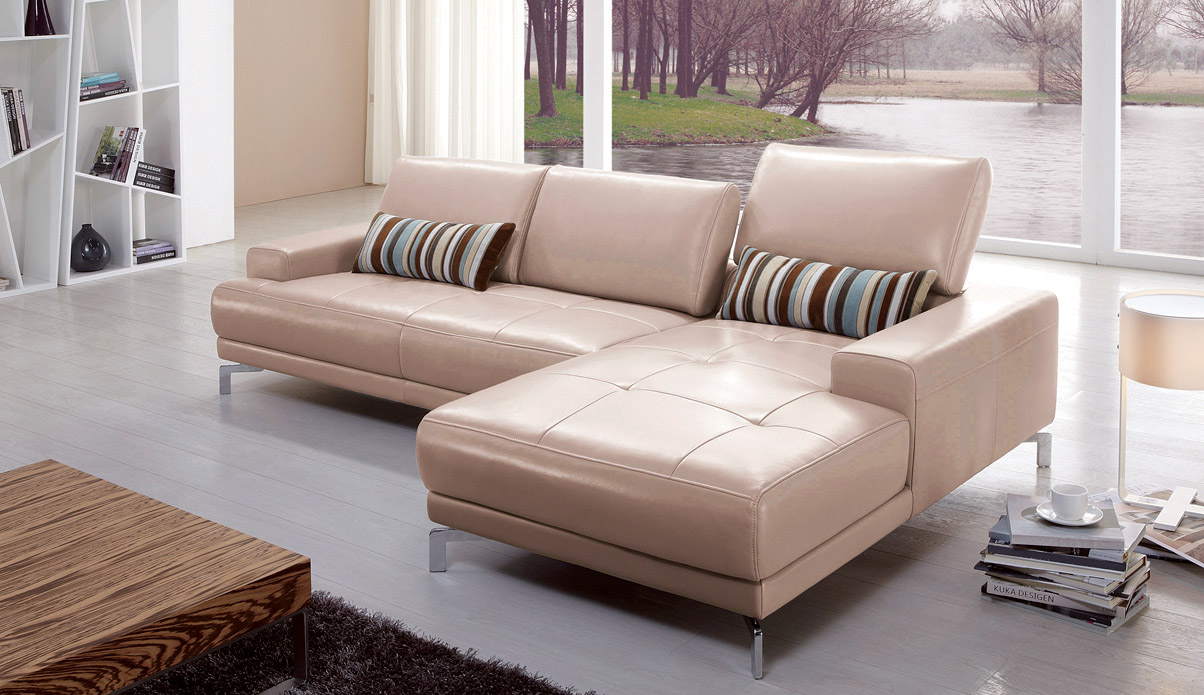 Exclusive Genuine Leather Sectional El Paso Texas Natuzzi Editions