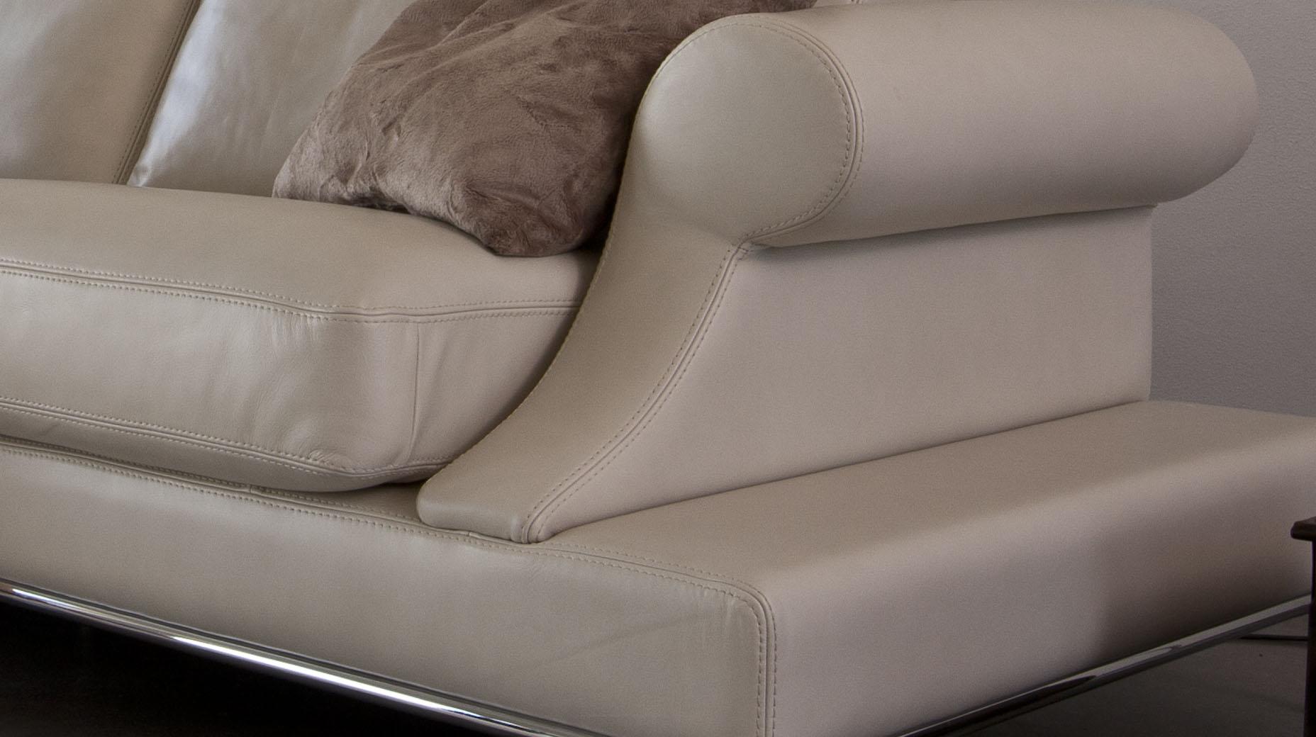 Elegant Full Italian Leather Sectionals Detroit Michigan Antonio