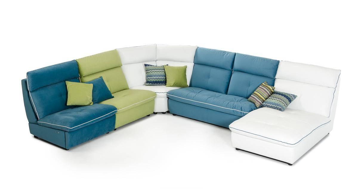 Multi Colored Sectional Sofa Hereo