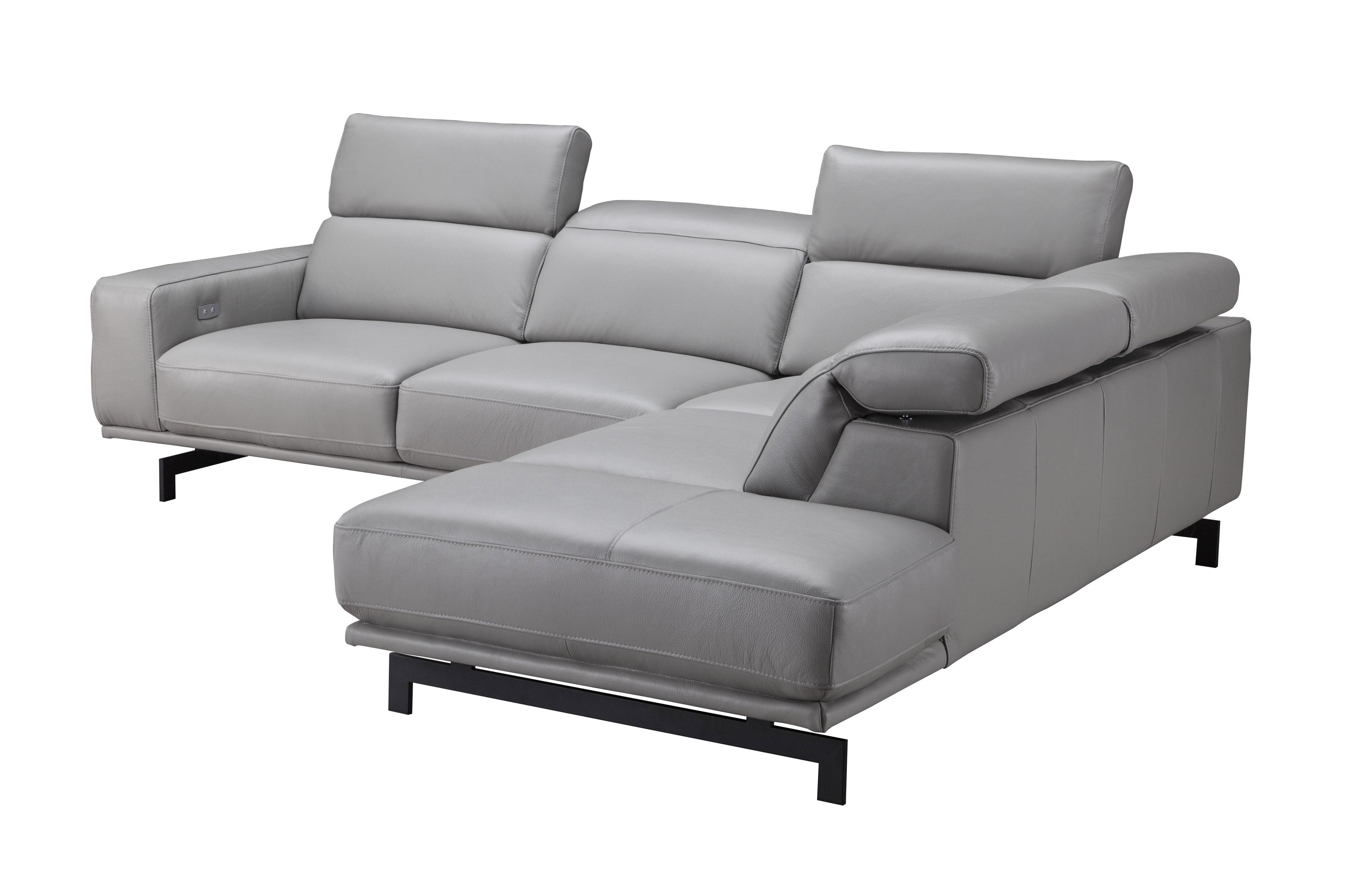 Phenomenal Adjustable Advanced Italian Top Grain Leather Sectional Sofa Theyellowbook Wood Chair Design Ideas Theyellowbookinfo