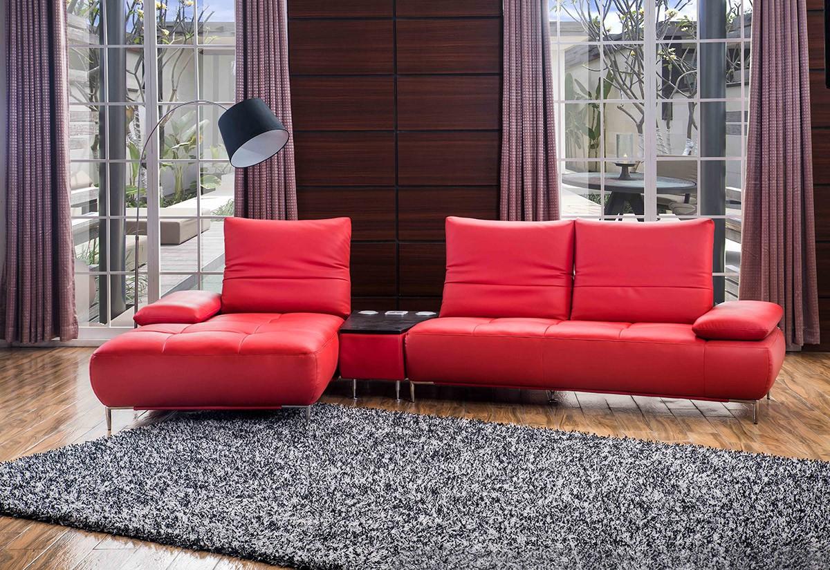 Luxurious Leather Corner Sectional Sofa Kansas Missouri
