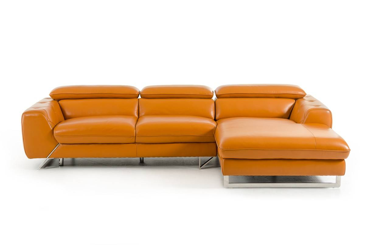 Luxury Italian Top Grain Leather Sectional Sofa Stamford Connecticut V Devon S98 Beverly Hills