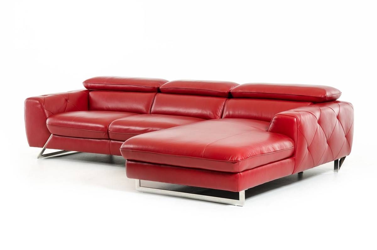 Luxury italian top grain leather sectional sofa stamford for Sofas marcas buenas