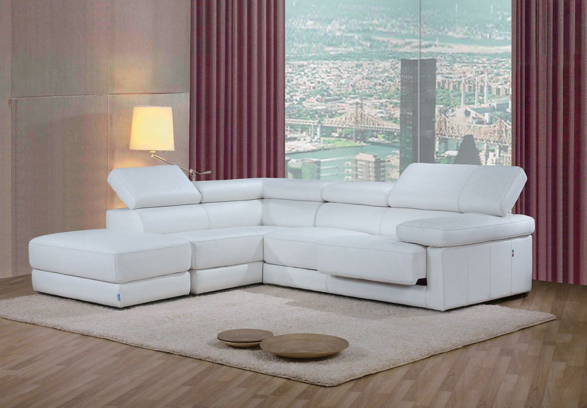 Adjustable Advanced Genuine Leather Sectional Columbus