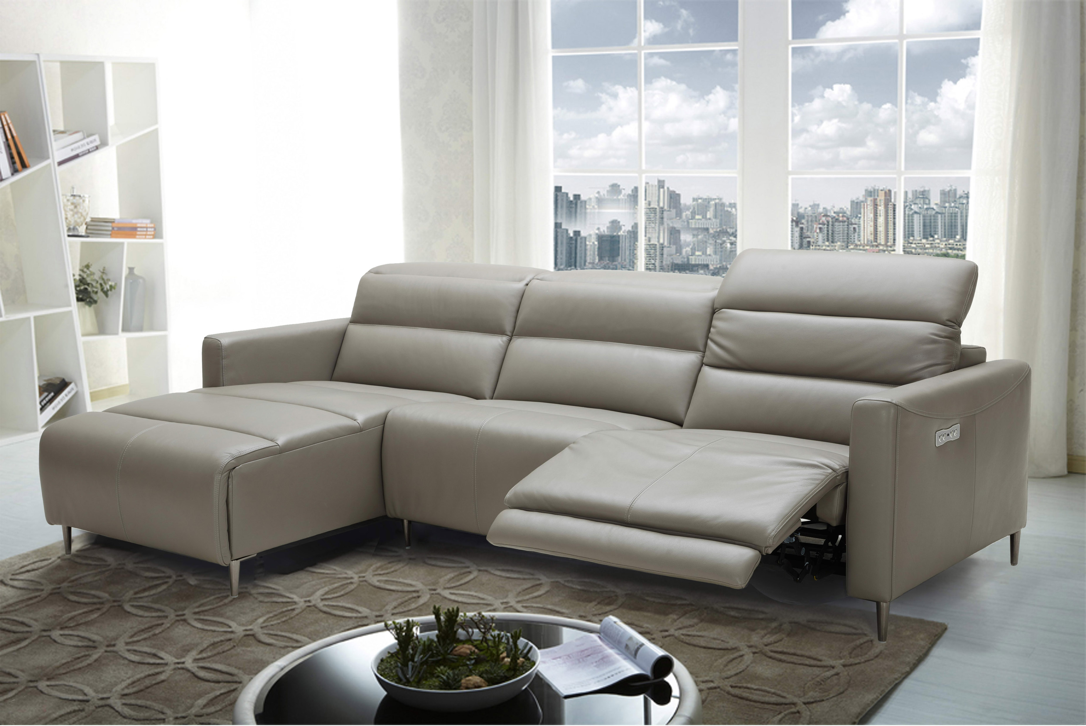 Exclusive Italian Leather Living Room Furniture Baltimore Maryland