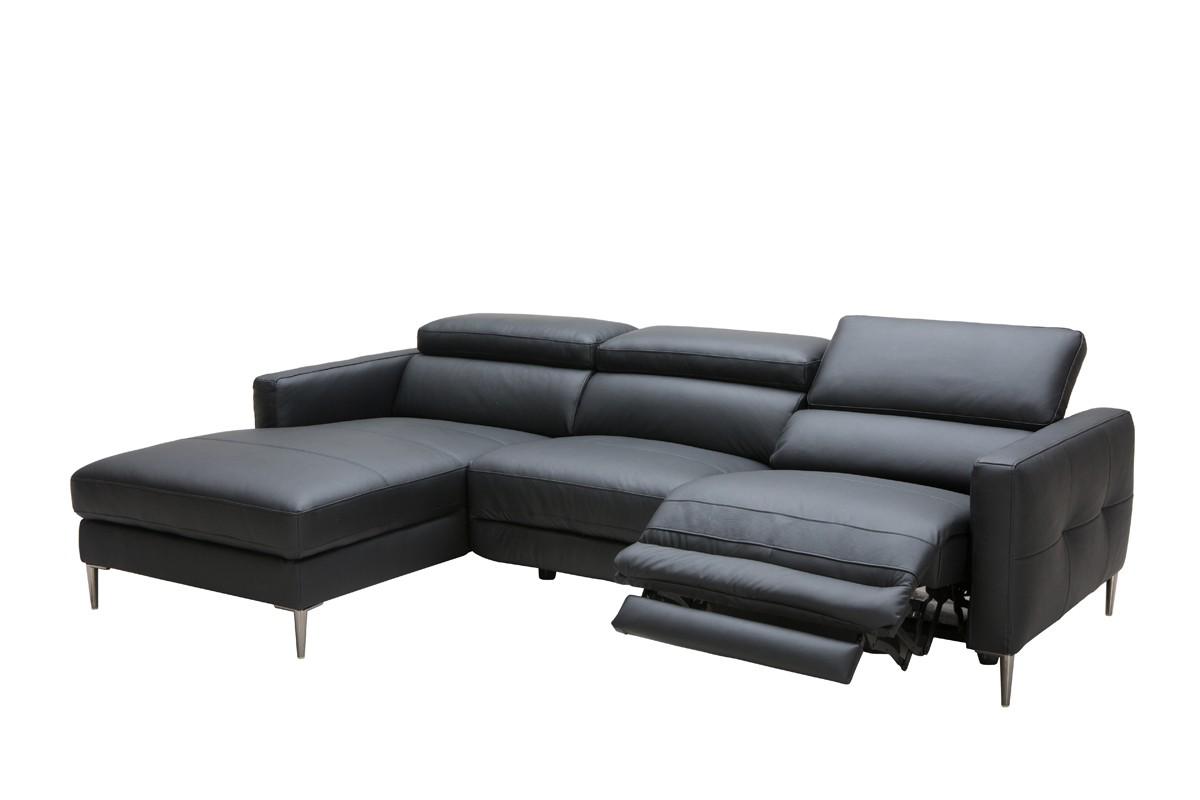 Advanced Adjustable Full Italian Leather Sectionals Mobile Alabama ...