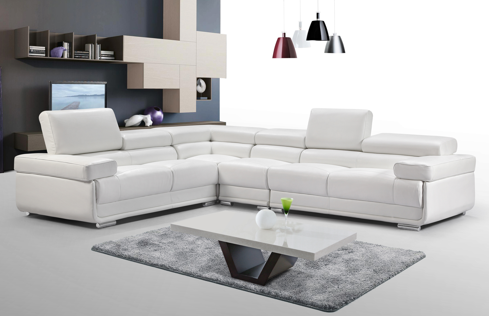 Elegant Corner Sectional L-shape Sofa