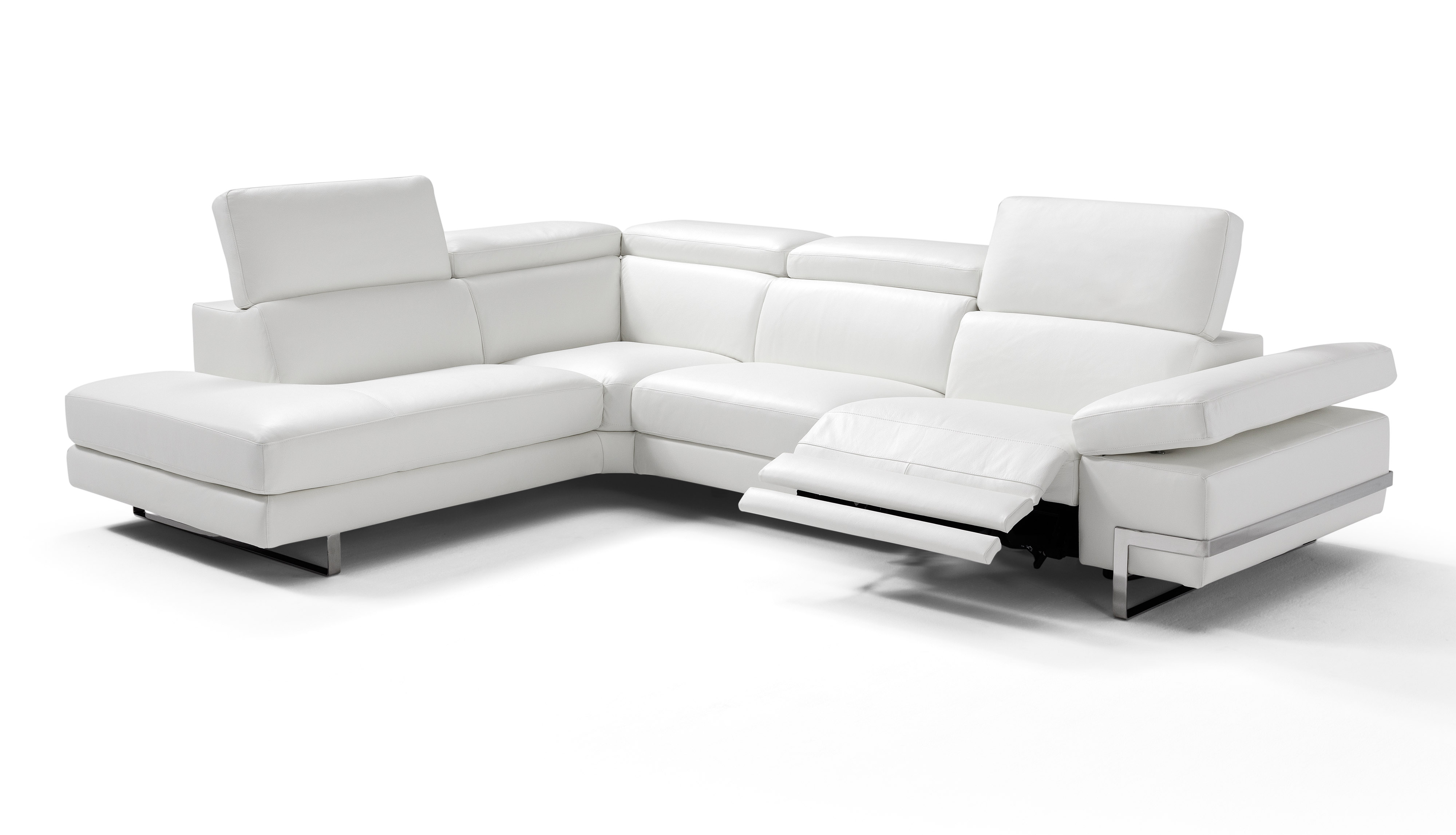 High-class Sectional Upholstered in Real Leather Lexington-Fayette ...