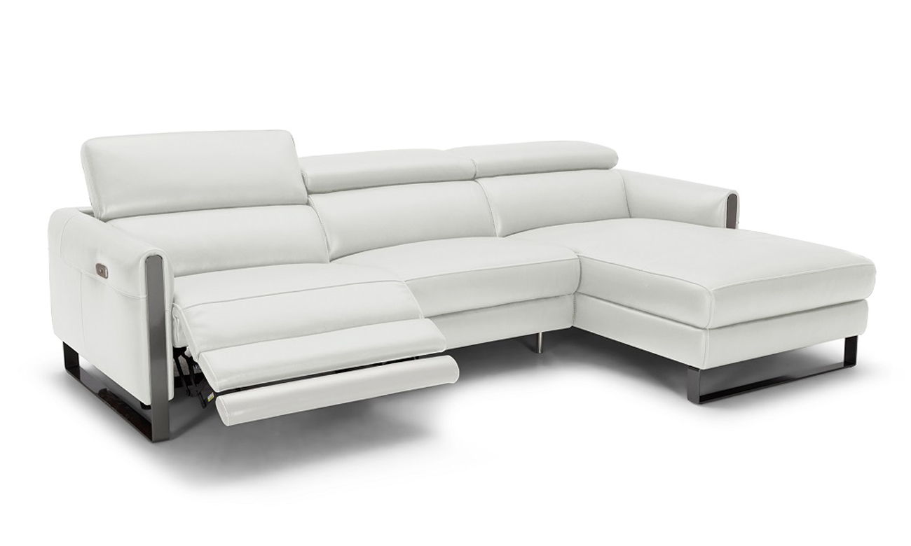 Adjustable Advanced Real Leather Sectional Reno Nevada J Amp M
